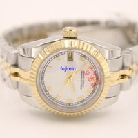 Wholesale Ladies Watches Roman Numerals - Ladies watch automatic mechanical watch DAY 26mm luxury watch woman AAA model aaa replicas watches royal oaks JUST Roman numerals 11
