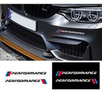 Wholesale Performance Car Accessories - Reflective    performance Car body Stickers Front Bumper Decorative Decals Exterior Accessories Modified For BMW X1X3X5X6 3 5 series