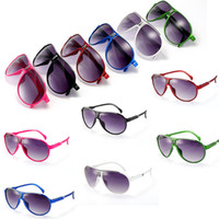 Wholesale red baby toys - Kids Sunglasses Baby Boys Girls Fashion Brand Designer Sunglasses Kids Children Sun Glasses Beach Toys UV400 Sunglasses Sun Glasses 074
