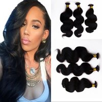 Brazilian Body Wave Human Braiding Hair Bulk 3 Bundles Color natural no procesado de cabello humano a granel para trenzar FDSHINE