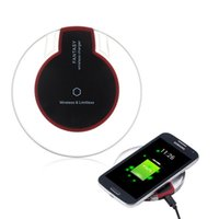 Wholesale Iphone Chargers Retail - Wireless Charger fast Charger for sammsung galaxy s6 s6 edge iPhone 6 6 plus Charging power pad Mat Receiver with retail package