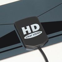 High Gain design ad alta definizione TV digitale Indoor Antenna HDTV DTV scatola pronta HD VHF UHF piatto