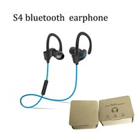 Wholesale ip sports - high quality wholesaleS4Stereo sport wireless bluetooth inear handfree earphone fit for samsung S7 note 7 ip 6 6s 7 with DHL free