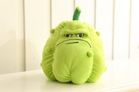 Wholesale Plants Vs Zombies Squash Plush - Squash 30cm Plants vs Zombies Sunflower Squash Plush Toys Doll Soft Plush Toy Doll Game Baby Party toys birthday gift