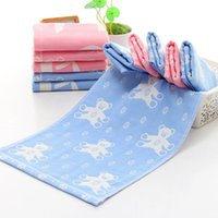 Wholesale Sweat Winter Children - Kids Child Soft Gauze Cotton small towel sweat towel three layer