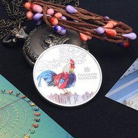 Wholesale Rare Russian - 5pcs Affordability of Soviet Russia series of rare animals commemorative coin chicken  decorative currency   Russian currency BCT060