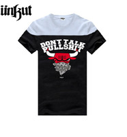 Wholesale Plus Size Blouse Short Sleeve - Plus size t shirt hip hop t-shirt new spring summer men blouse hiphop rock tees UNKUT free shipping size S-3XL