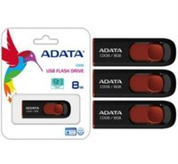 Wholesale Blue Usb Stick - ADATA DashDrive c008 128GB 256GB 64GB ADATA USB Memory 128GB 256GB 64GB UV100 Blue Removable Cap USB 2.0 Flash Drives Sticks