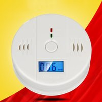 Wholesale Gas Leak Alarm Detector - 85DB Carbon Monoxide Alarm Gas Leak Detector Household Gas Alarm Responsive Kitchen Bathroom CO Detector Safe Eco-Friendly Machine