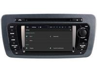 Wholesale Seat Ibiza Dvd Player - Navirider 2GB ram octa core Android 6.0 Car DVD player GPS for Seat Ibiza 2009-2013 radio audio headunit DVR 3G GPS navigation tape recorder