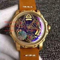 Wholesale Steel S4 - Luxury High Quality AJ Factory 1:1 Maker Rose Gold 46mm x 14mm MaxLAB MaxLAB NAVIGATOR S4 MIYOTA 8215 Movement Automatic Mens Watch Watches