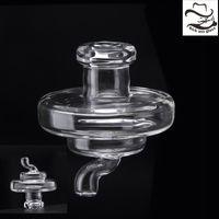 Wholesale Clear Caps - Glass Bubble Carb Cap Ball Dome Quartz Thermal Banger Nails Dab Rig Universal Clear Carb Cap 662