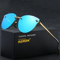 Shades Aviator Polarized Lens Sunglasses para hombres Designer Brand Sun Glasses para mujer Pilot Luxury Sunglass Mirrored driving Sun Glass Cheap