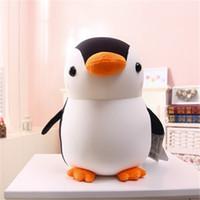 Wholesale cute penguin plush toys - 28Cm  1Pcs Baby Adorable Animal Cute Penguin Soft Foam Particles Penguins Doll Gift Plush Toys For Children