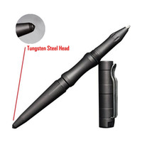 Wholesale Personal Pencils - Free Shipping New Style Self Defense Personal Safety Tactical Pen Pencil with Writing Function Tungsten Steel Head
