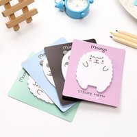 Wholesale Cute Sheep Panda Memo Pad Sticky Notes Memo Notepad School Office Supply Escolar Papelaria Gift Stationery Material Escolar