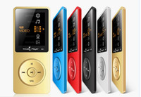 Wholesale Level Books - 100% Origional RUIZU X02 MP3 Player High Sound Quality Entry-level Lossless Music Player With 1.8 Inch Screen Can Play 100 hours with FM