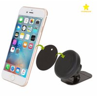 Wholesale Stick For Car - Stick on Dashboard Magnetic Car Moun Universal Car Mount Cellphone Holder for iPhone 7 Plus One Step Mounting Reinforced Magnet