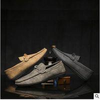 Wholesale Men Peas Shoes - Autumn Korean version of the trend of men's shoes pedal pedal lazy breathable men's casual Peas shoes youth tide shoes