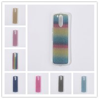 Wholesale Bling Powder - Coque For Motorola Moto G4 G4 Plus Cover Fashion Bling Glitter Gradient Mobile Phone Case Soft TPU Frosted Shimmering powder Phone Case