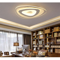 Wholesale Modern Natural Ceiling Lights - Led Ceiling Lamp Acrylic Strange Shape Dining Room Living Room Ceiling Light Modern Indoor Light Warm Natural Cool White Led