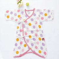 Wholesale Baby Pink Romper Dot - 2017 High Quality Newborn Baby Romper Infants and young children cotton butterfly clothing conjoined baby clothes clothes