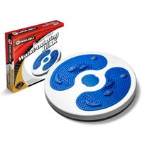 Wholesale Twisting Disk - Winmax Hot Selling Disque Fitness Massage Twister Plate Magnet Waist Wriggling Waist Twisting Disk Twist Board