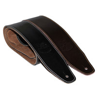Wholesale Leather Bass Straps - Genuine Leather Guitar Belt Strap Electric Bass Strap 145 cm Long 6 cm Wide Guitar Parts