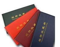 Wholesale Money Collector - Hot Sales Paper Money Collector 20 Pages World Paper Money Album Paper Money Organizer 1PC