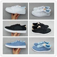 1 Retro Low OG Premium Shoes 2017 Men's Basketball Shoes Preto / Branco Vachetta Tan Blue High quality Sneakers Preço de fábrica barato 40-46