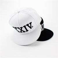 Bruno Mars Hat Snapback Hip Hop Bonés de beisebol New Arrival Letter Man Plain Adjustable Snapback Hats Caps