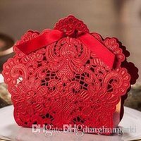 Wholesale Chinese Bag Manufacturers - 60PCS creative custom manufacturer of wedding ceremony to celebrate Korean European candy bags candy red CB057