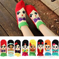 Wholesale Print Ankle Socks Womens - HOT NEW HIGH QUALITY WOMENS PRINCESS 3D PATTERN CUTE CARTOON GIRLS ANKLE SOCKS LOW CUT SOCKS COTTON