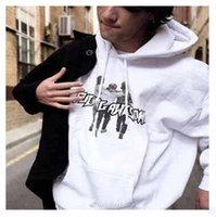 Wholesale Men Awesome - Autumn Newest F Awesome Printed Hoodies Men's Fleece Hooded Sweatshirts Fashion Solid Pullover Black White Red Hoody For Sale