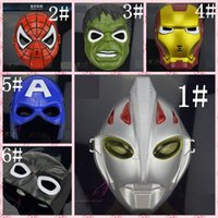 Wholesale Superman Mask Kids - Selling Christmas performance cartoon cartoon adult adult children's toys glowing flashing sound salvage superman mask free shipping