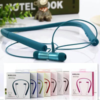 Wholesale Earphones Mdr - For MDR-EX750 Wireless Bluetooth headset sports neckband in ear earphone headphone headsets for iphone 8 7 plus samsung s8 plus s7 s6