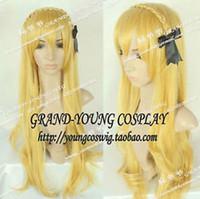 Wholesale Kise Wig - Free shipping New High Quality Fashion Picture wig >>Kuroko's Basketball Ryota Kise sexual turn Female version long Cosplay Wig Hair