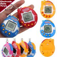 Wholesale Tumbler Battery - IN Stock!!! Tamagotchi Electronic Pets Toys Retro Games Machine toys Nostalgic Virtual Cyber Digital Pet Tamagotchi Tumbler Toy