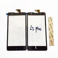 Wholesale Display Zte - 1PCS Black Touch Screen Digitizer For ZTE Blade HN V993W l3 plus digitizer touch screen display Free shipping