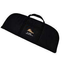 Wholesale Archery Bow Holder - Black Color Archery Recurve Bow Cases Bag Nylon bag For Shooting Recurve Bow Limbs Holder Bag