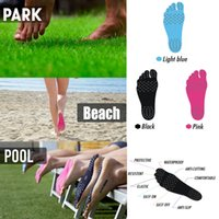 Wholesale Old Fashioned Toys - 2017 Newest Fashion Creative Summer Holiday Men Women Beach Nakefit Insole Waterproof Anti-skid Anti-cutting Sandals Foot Pad Feet Pads