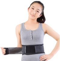 lumbale untere hintere taillenstützstrebe großhandel-Magnetische Abnehmenmassagegerät Gürtel Untere Rückenstütze Taille Lendenwirbelsäule Brace Gurtband Rückenschmerzen Schmerzlinderung Gesundheitswesen Taille Unterstützung