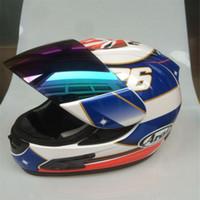 Wholesale Tt Helmets - ARAI RX-7X New LE Helmet Motorcycle Helmet RX-7 EU  CORSAIR-X US IOM TT Full Face Motocoss Racing Helmet Isle of Man