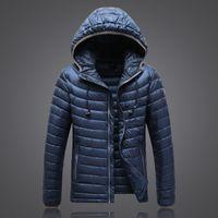 Wholesale Light Purple Jackets Coats - New Winter north Sports Jacket Men White Duck Down Jacket Ultra Light Men's Hooded face Jackets Warm Coat 1503