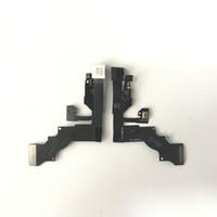 cabo flexível novo original venda por atacado-Original novo módulo de câmera de frente para frente flex cable sensor de proximidade de proximidade para iphone 6s 4.7 polegadas 5.5