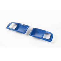Wholesale ABS Blue Inner Door Handle Bowl Trim Cover Fit For Jeep Wrangler JK Door