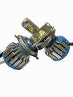 h4 kit de conversión de faros de xenón al por mayor-LED kit de conversión de la linterna H4 40W 4000LM faro Reemplace el kit de Xenón HID lámpara de la lámpara del bulbo del envío libre