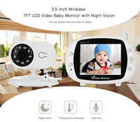 Wholesale Long Range Audio Monitor - Fimei 3.5 inch Wireless Night Vision TFT LCD Video Baby Monitor 2-way Audio Infant Baby Camera Digital Video Nanny babysitter +NB