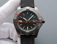 ingrosso vendicatore di mens orologi-Orologi da polso di lusso di alta qualità 44 millimetri Avenger Blackbird automatico meccanico quadrante nero V1731110-BD74GCVT Orologi da uomo
