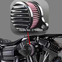 Wholesale CNC Air Filter Rough Crafts Air Cleaner Intake Filter System fits for HD Harley Sportster XL Custom